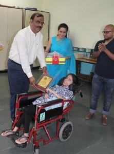 Rani laxmi Bai award for Zeenat Ara by Up Govt