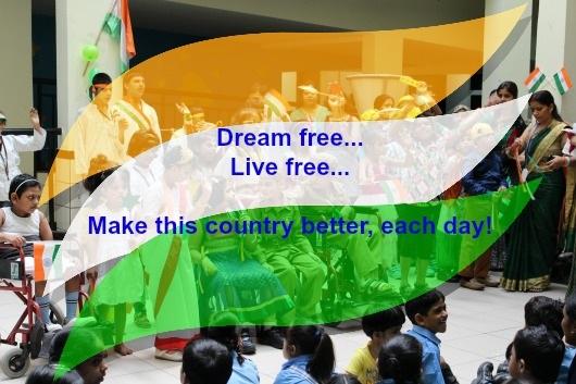 Celebrating the spirit of patriotism and freedom...