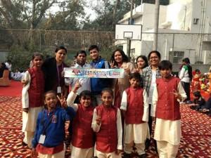 Won Best Institute Award Ability Utsav from YMCA