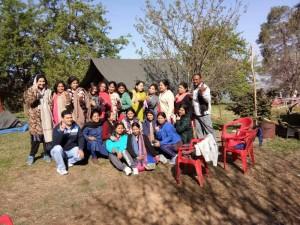 Teachers & Staffs Tour - Camp Hammock Tehri