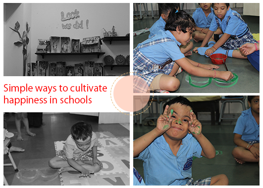 Simple ways to cultivate happiness at school