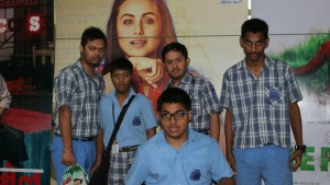 Special Screening of Hichki Movie at Wave Mall for MBCN students