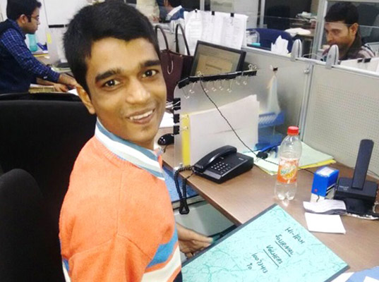 Jatin Kanojia, a kid with Cerebral Palsy leaving behind all odds