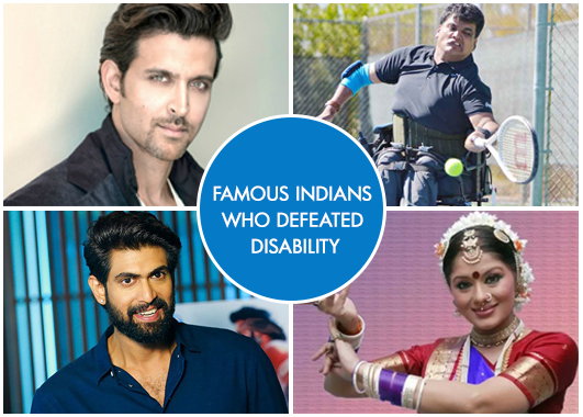 Indian celebrities who didn't let their disability get the better of them!