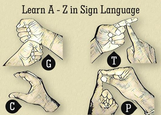 A-Z Sign Language