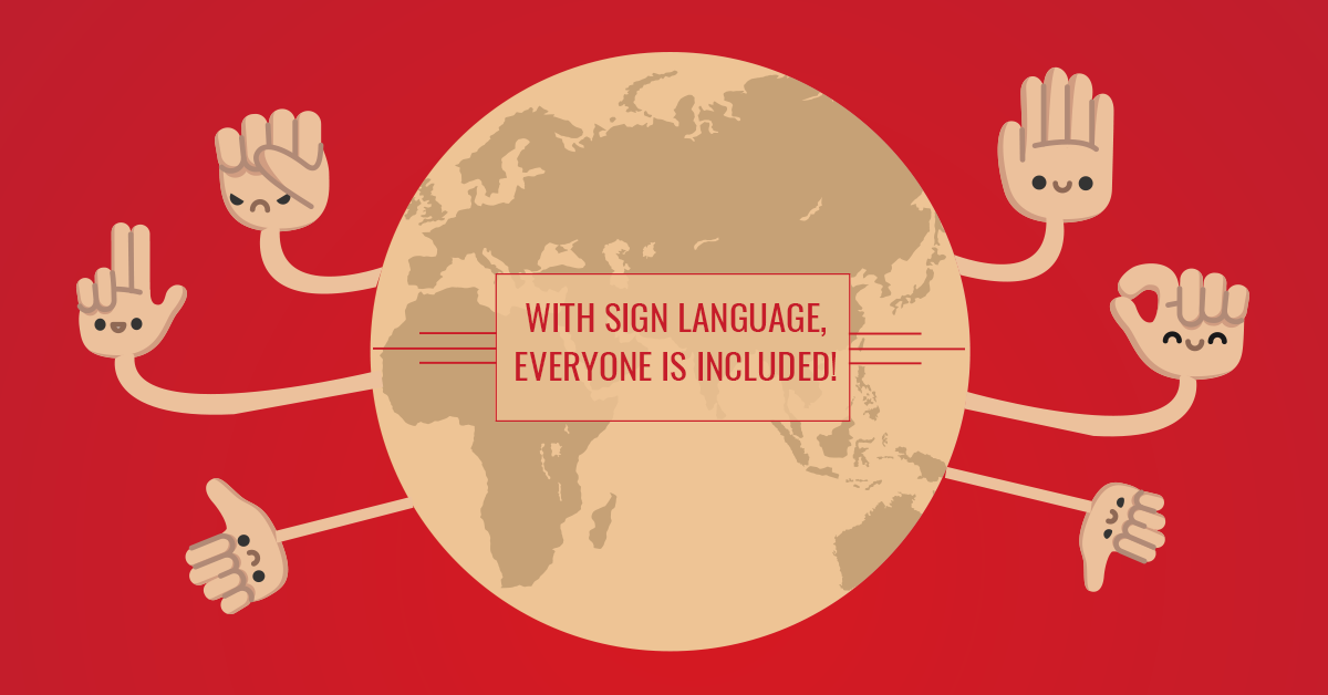 Full Inclusion with Sign Language – International Week of the Deaf