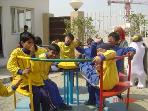 Play & Recreation for physically challnaged children's at MBCN