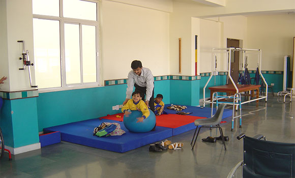 Therapy program for Disabled Child's of MBCN