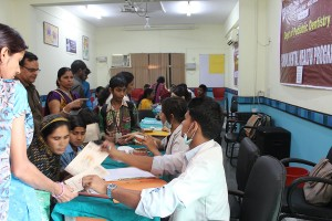 Free Dental Checkup Camp for MBCN Students  by ITS dental college