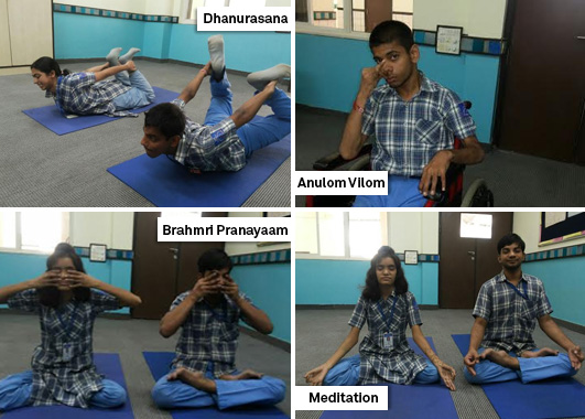 Learn Yoga from the Differently-abled at MBCN