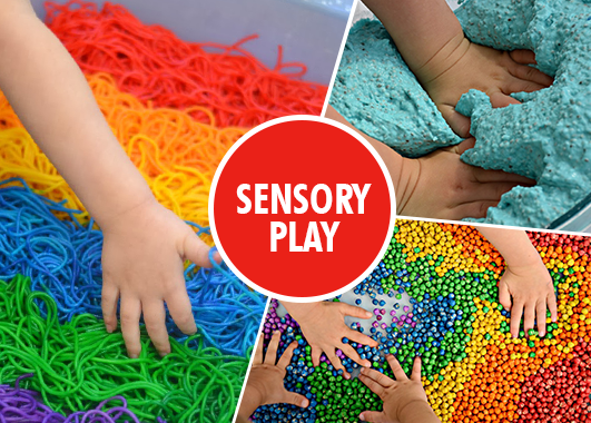 Sensory Play and its benefits for autistic children