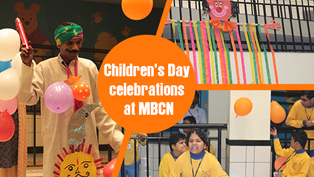 The smiling faces say it all! Children's Day celebrations at MBCN