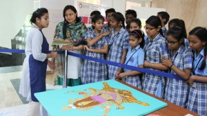 Painting Workshop attended by MBCN Students at Genesis Global School