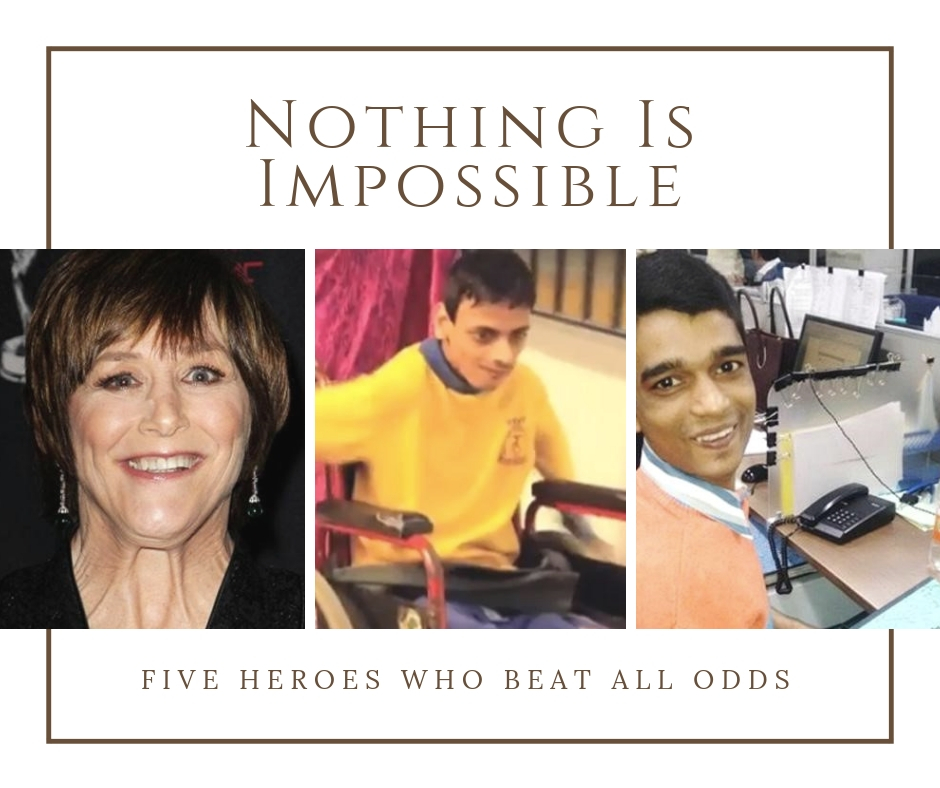 Nothing Is Impossible: Five Heroes Who Beat All Odds – MBCN